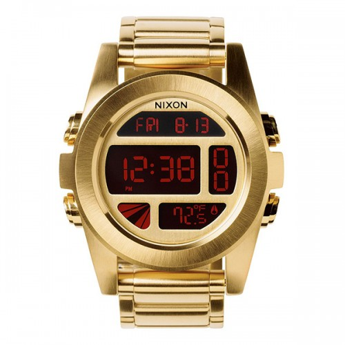 Nixon Unit SS All Gold
