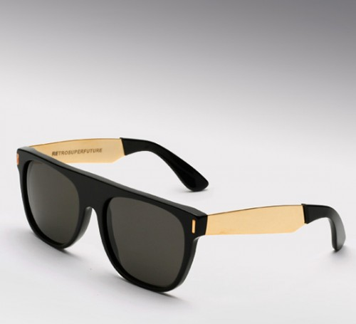 Super Flat Top Francis Black & Gold