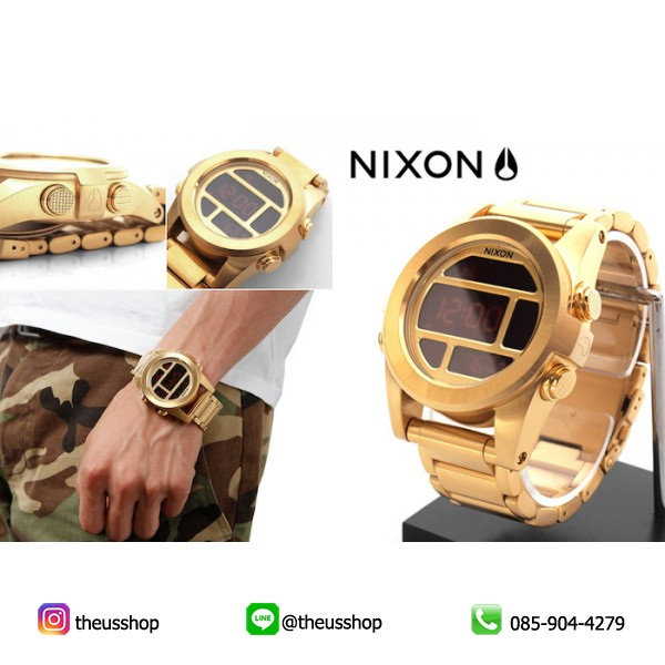 Nixon Unit SS All Gold -2