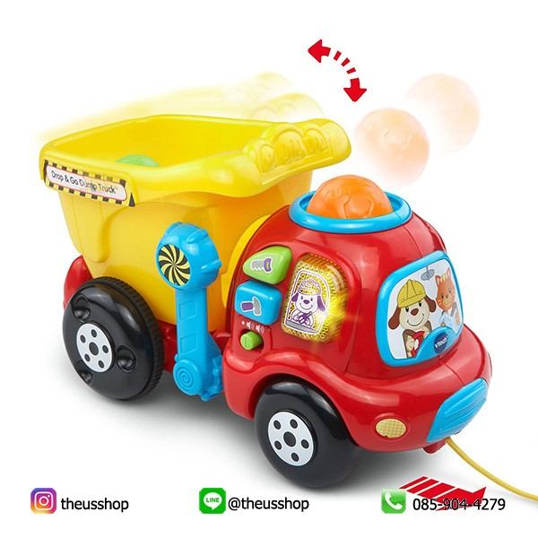 VTech Drop and Go Dump Truck-2