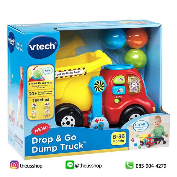 VTech Drop and Go Dump Truck-3